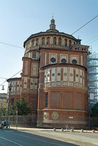 Santa Maria de la Grazia - Bramante- Milano - Italy