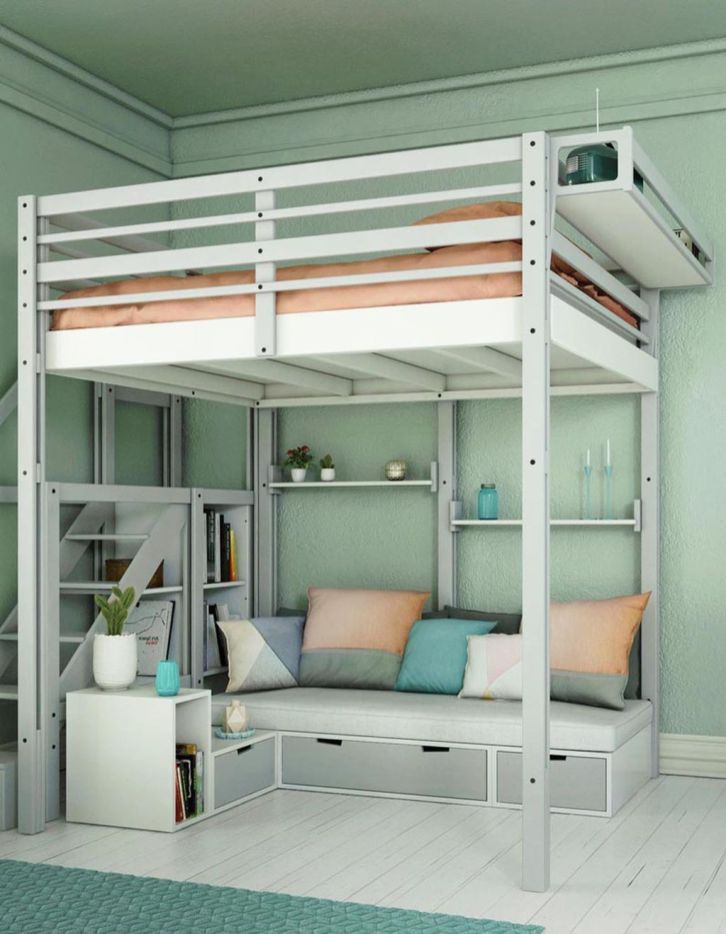 Pin On Lofted Beds