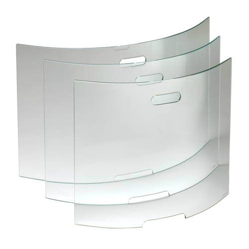 Stovax Glass Curved Fire Screen 30 Inch