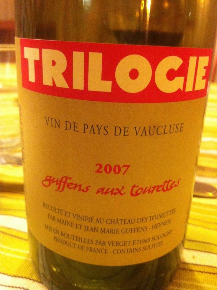 Ch. des Tourettes, 2007 Trilogie, VdP DE Vaucluse