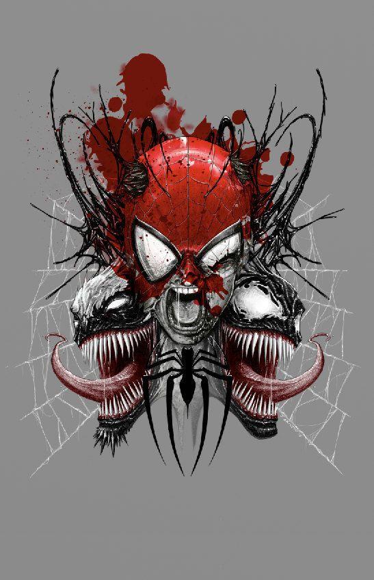 Spiderman - Venom - Antivenom - by Aburtov - Instant Downloadable File