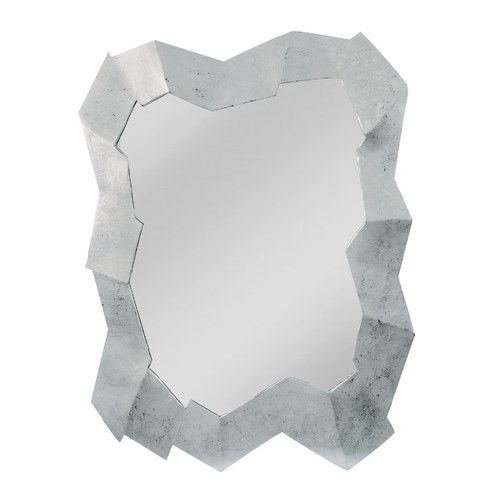 Found it at Wayfair - Abstract Cut Stone Design Multi Dimensional Mirror