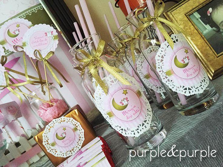 Pembe & Gold Diş Buğdayı Partisi | Diş Buğdayı Dekorasyonu | Diş Buğdayı Şeker Büfesi | Diş Buğdayı Süslemeleri | Kız Çocuk Partileri | Pink & Gold | Tooth Fairy Party | Candy Corner