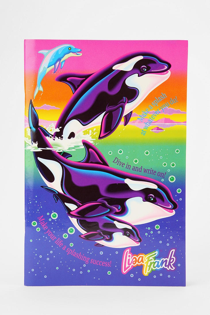 Lisa Frank Limited Edition Vintage Writing Book