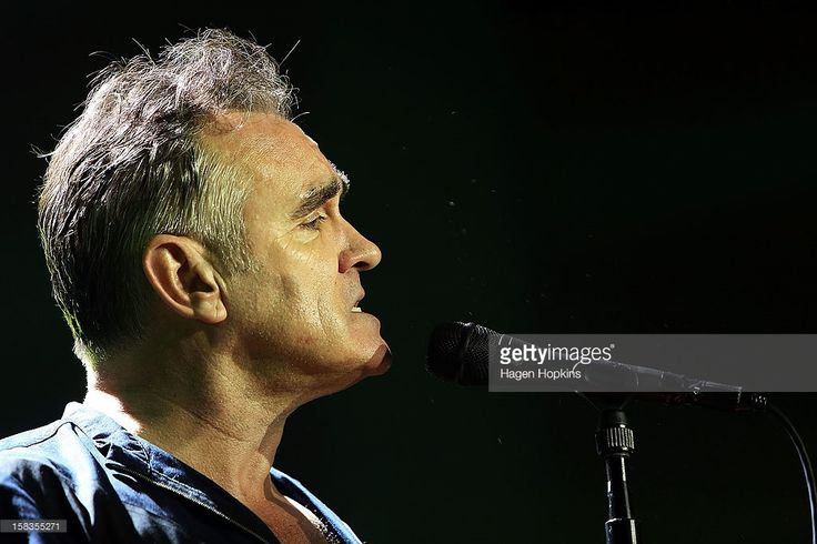 Morrissey performs live at Wellington Town Hall on December 14, 2012 in Wellington, New Zealand.