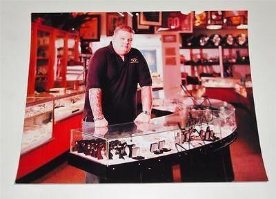 Corey Harrison PAWN STARS autographed 8x10 COA Memorabilia Lane