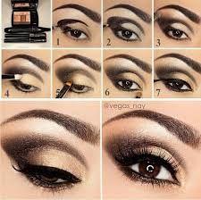Αποτέλεσμα εικόνας για μακιγιαζ για καστανες με καστανα ματια βημα βημα