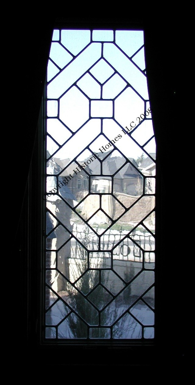 Historic Homes - Services - Leaded Glass Windows