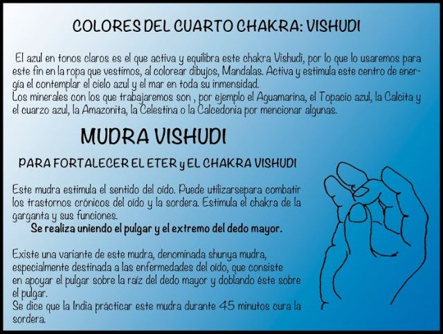 Mudras de Cada Chakra, su Función, Color, y Para que nos Sirven y sus Consecuencias. Los chakras son centros energéticos en nuestro c...