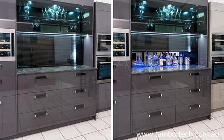 Kitchen design ideas - the perfect bar / drinks cabinet.