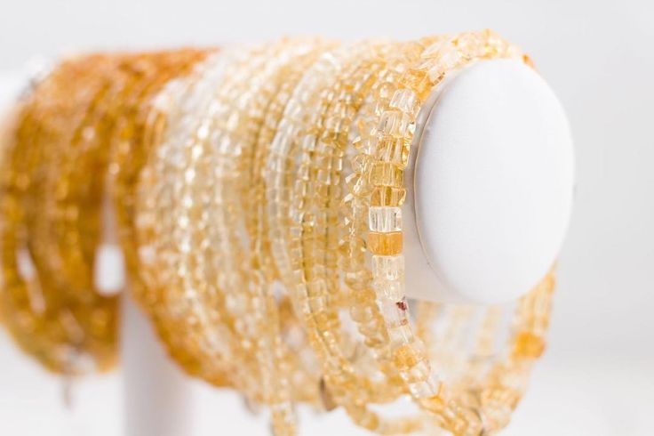 Citrine is known to bring good fortune and success to the wearer. It helps fulfill potential and stimulates mental focus