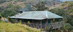 #Madzeka #Hut on #MulanjeMountain is used by #hikers - ascend from #Lujeri #TeaEstate (which is a beautiful maze of roads, tea, tracks, ponds & rivers below the mountain).