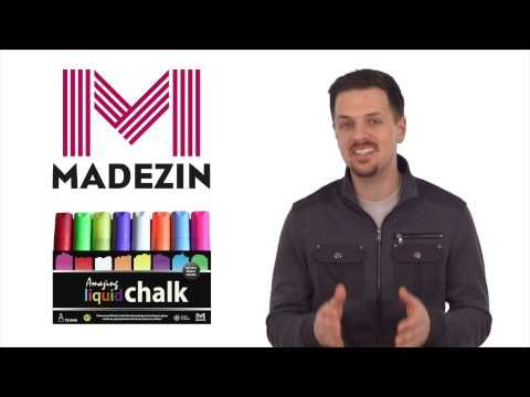 At Madezin we've designed a set of jumbo Amazing Liquid Chalk markers specifically aimed at business owners who want to get attention with bold text and design. Our markers are now available on Amazon. Come and visit us online and order yours today! http://www.amazingliquidchalk.com