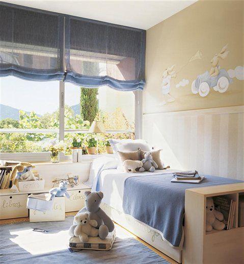 perfect!: Kids Bedrooms, Children Rooms, Blue Plush, Children Bedrooms, D S Rooms, Baby Rooms, Little Boys Rooms, Child Bedrooms, Kids Rooms