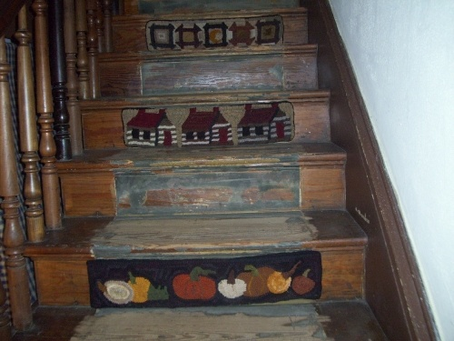 Might Do This Someday... Stair RugsStair RisersStair StepsBeautiful ...