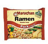 Maruchan Ramen Noodles Pork Flavor (3 oz.)