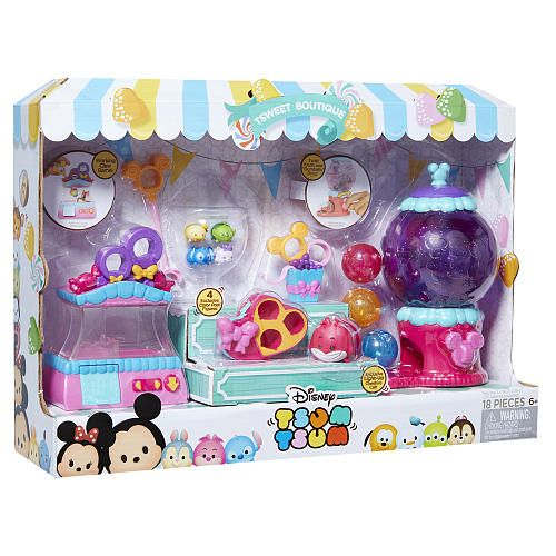 "Disney Tsum Tsum Tsweet Boutique Playset - 18 Pieces - Jakks HK Ltd. - Toys ""R"" Us"