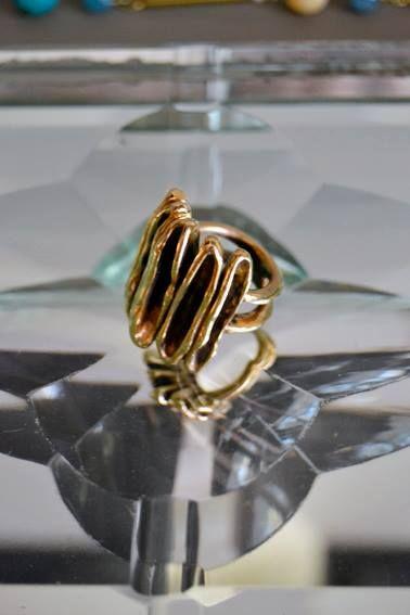 Martino & Mazzolini anello in bronzo.