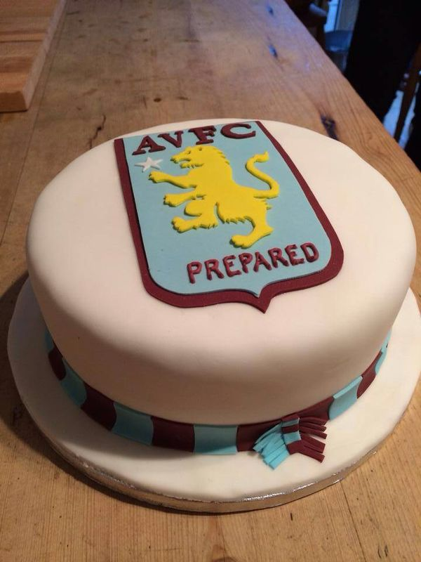 Aston Villa Wedding Cake