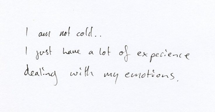 I'm not cold: Thoughts Unfeel, Epic Truths