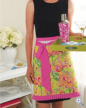Lilly Pulitzer® Apron - Garnet Hill tropical aprons