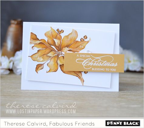 Whether you are out shopping or hunkering down in your craft room to make your holiday cards, we wanted to fill your day with the amazing style and videos of our fabulous friend, Therese Calvird. T…