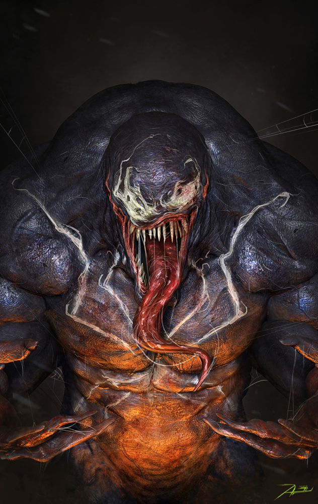 Venom by Adnan Ali | Fan Art | 3D | CGSociety