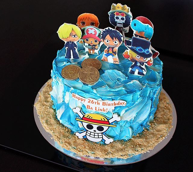 One Piece Cake Idea For People Who Love The Anime Anime Cake