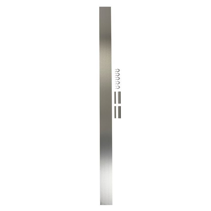 IT Kitchens Brushed Aluminium Effect Straight Plinth (L)2.4m   Departments   DIY at B&Q