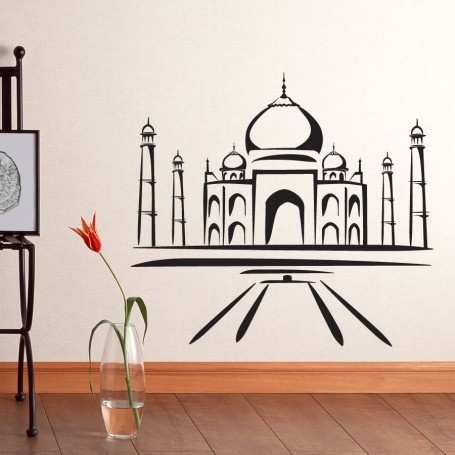 Majestic Wall Art - Taj Mahal Wall Decal $25.00 (http://www.majesticwallart.com/Vinyl-Wall-Decals/Landmarks-Vinyl-Wall-Decals-Stickers-Art-Graphics-Decor/Taj-Mahal-Wall-Decal-Sticker-Graphic.htm)