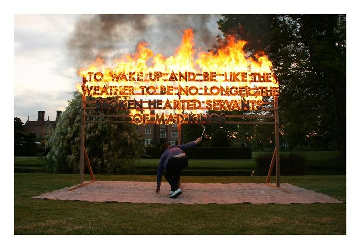 GREAT FOSTERS FIRE POEM. Fire Poem. Great Fosters, England. 2010