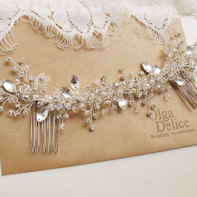 Украшение для невесты Валерии))) #olgadelice