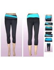 Lululemon Yoga Astro Crops Black Blue $51.99 http://www.sportcomeon.com