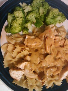 Acadia Roasted Garlic Tuscan Grill Chicken w/ Pasta dish Recipe