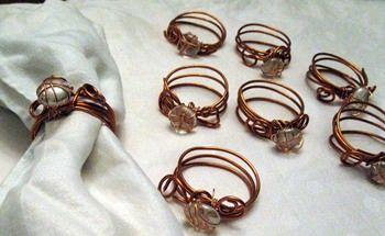 #Copper, #Napkin, #Wire
