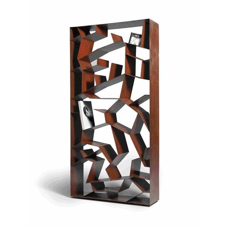 Libreria Autum Ruggine by Paolo Castelli per Domodinamica $2304