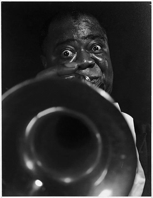© Eliot Elisofon, ca. 1954, Louis Daniel 'Satchmo' Armstrong --- #eliotelisofon #louisarmstrong
