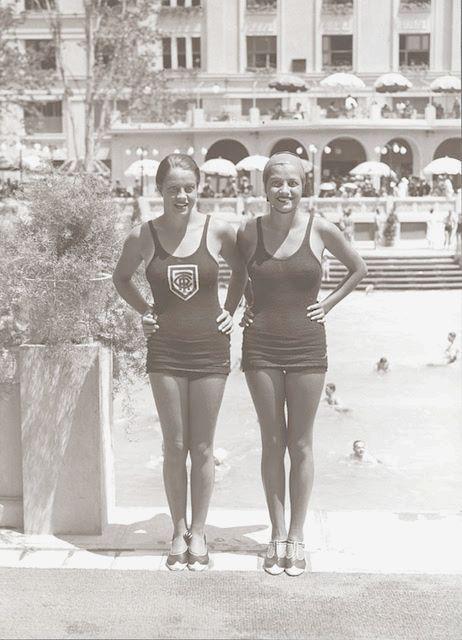 Bucuresti - strandul Lido - anii 30