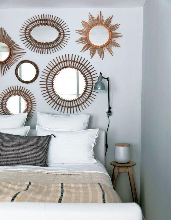 les 25 meilleures id es concernant t te de lit en miroir sur pinterest meubles de miroir. Black Bedroom Furniture Sets. Home Design Ideas