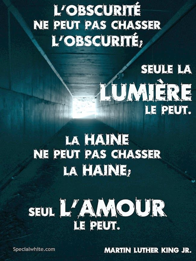 Citations option bonheur: Citation de Martin Luther King sur la haine et l'a...