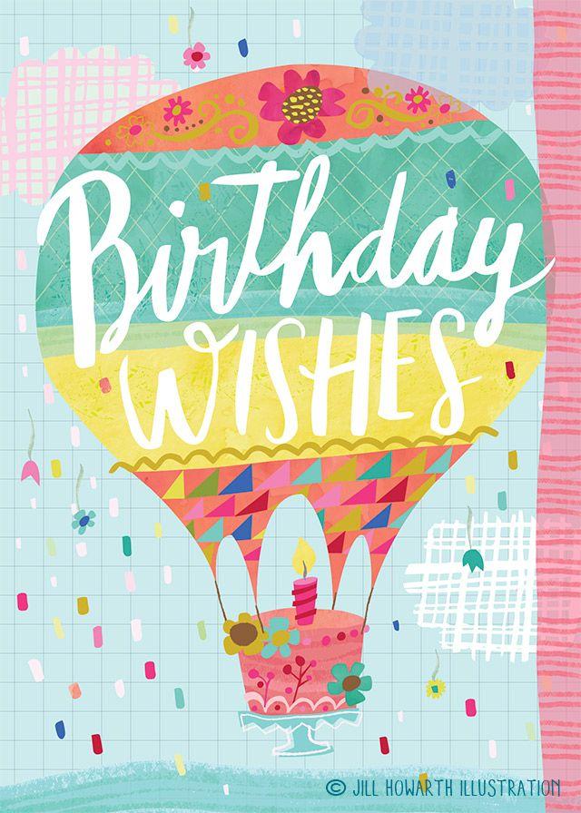 birthday card / Jill Howarth