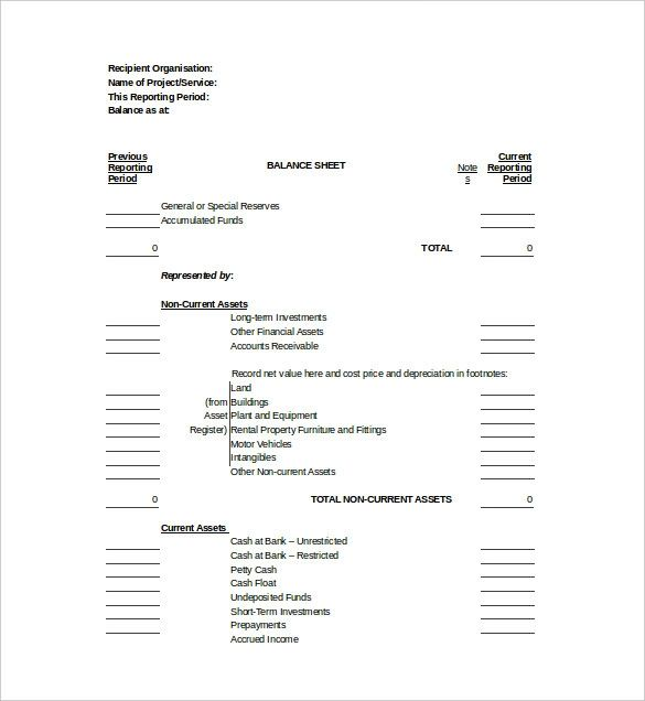 Large and small companies, nonprofit organizations and governments have balance sheets. 21 Balance Sheet Templates Download Free Formats In Word Excel Pdf Balance Sheet Template Balance Sheet Budget Planner Printable