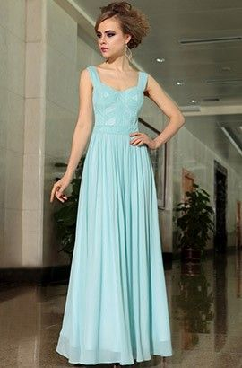 Celebrity Inspired Long A-Line Prom Gown Evening Dresses