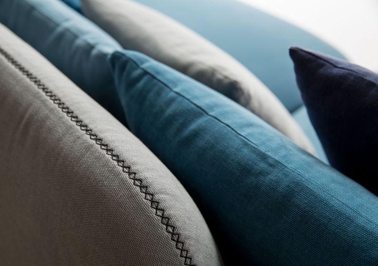 Sofa4manhattan, project by BertO and Design-Apart. Design Lera Moiseeva in collaboration with Luca Nichetto. #customsofas #design