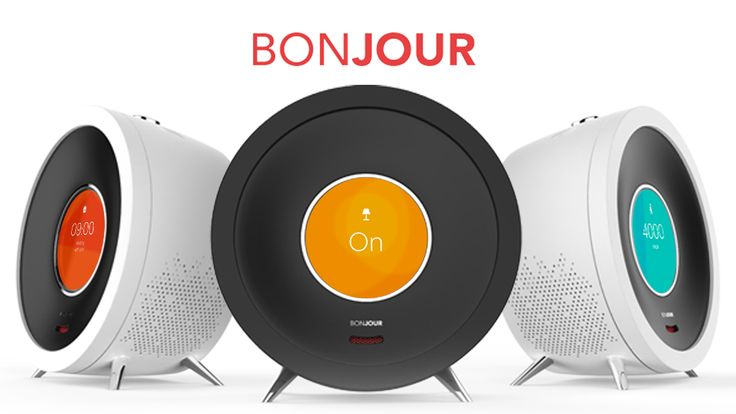 Bonjour | Smart Alarm Clock with Artificial Intelligence project video thumbnail