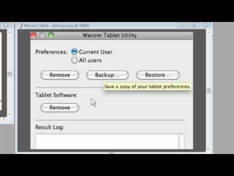Uninstall and Reinstall the Wacom Driver - Mac - YouTube