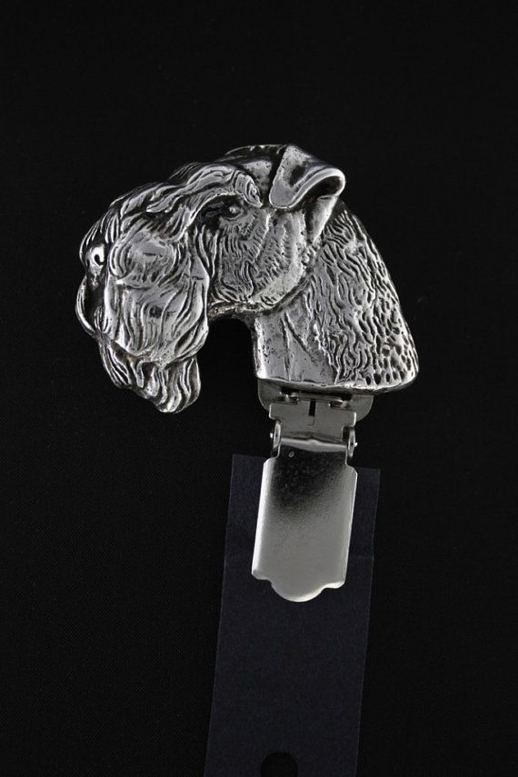 Kerry Blue Terrier dog clipring dog show ring by ArtDogshopcenter