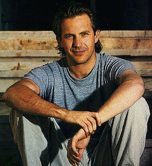 Kevin Costner... Young...