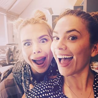 "I love this! Hayley Atwell And Billie Piper Lip-Syncing To ""Push It"" Will Give You Life"