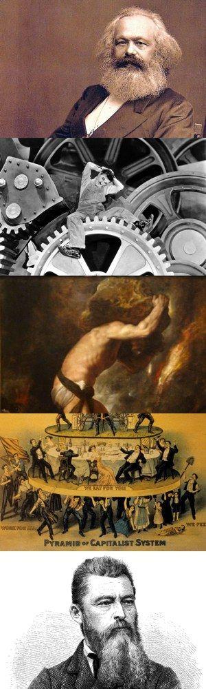 Cinque tipi di alienazione in Marx